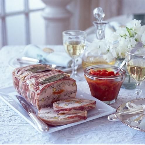 Pork chicken and pistachio terrine good housekeeping for Chicken and pork terrine with pistachio