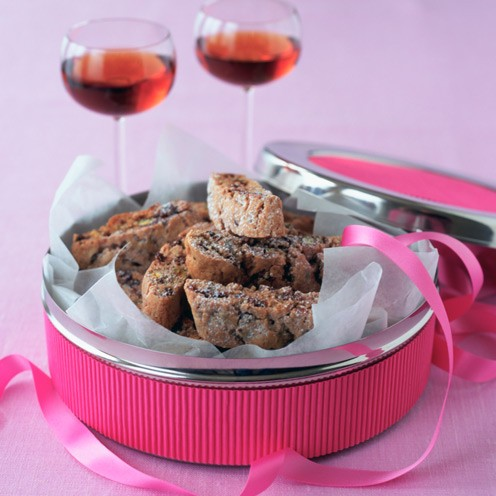 Chocolate and pistachio biscotti - Good Housekeeping