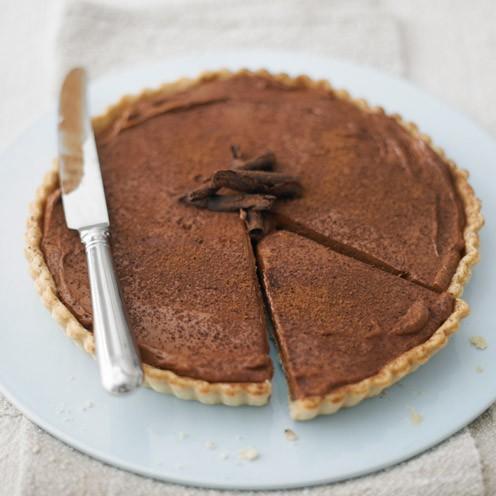 Chocolate espresso tart - Good Housekeeping