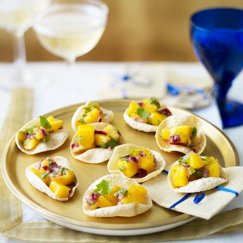 Poppadom scoops good housekeeping for Canape menu ideas