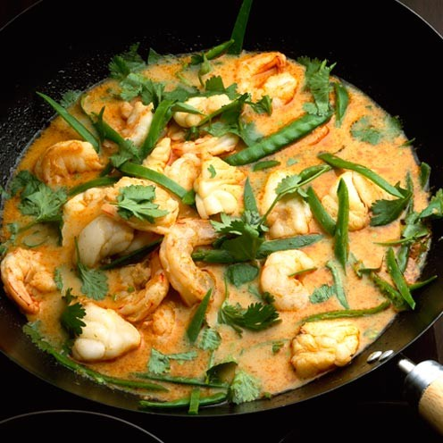 thai red curry with seafood kaeng choo chee thai curry thai seafood ...