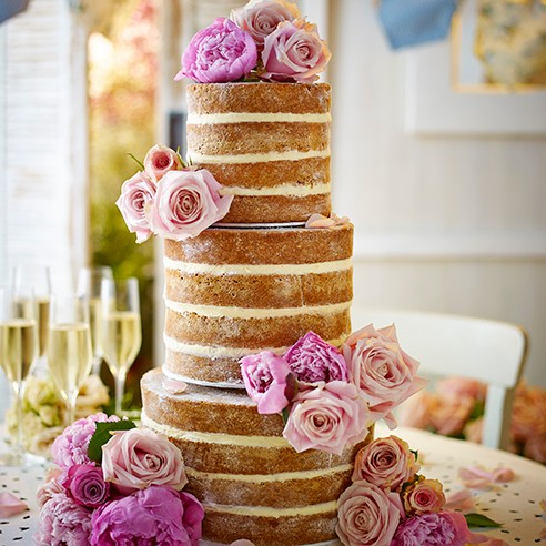 two tier sponge wedding cake recipe the cake housekeeping 21348
