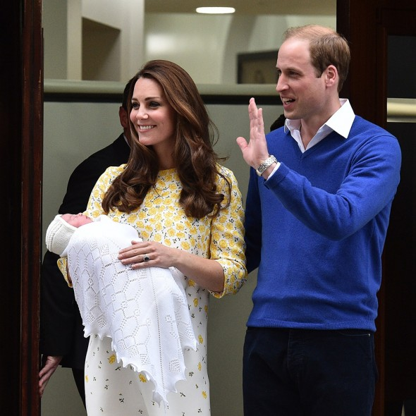 The Royal Baby's Name Is Princess Charlotte Elizabeth