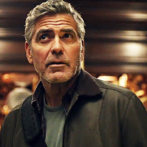 George Clooney Tomorrowland poster
